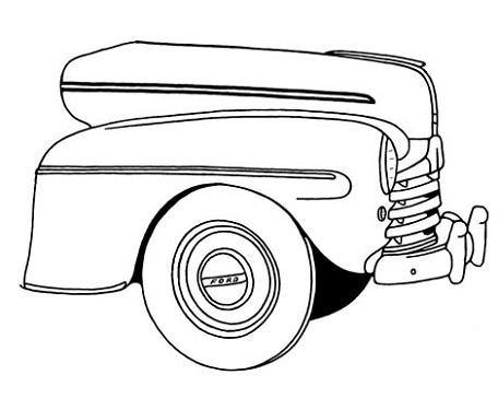 1932 Ford Car Drawings as well 182409937942 also 272377125992 together with 272379729913 together with  on pro street ford maverick